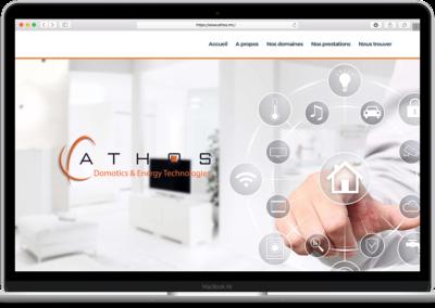 Conception web – ATHOS Technologies